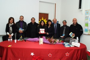 Premiazione Chiara Zampaglione