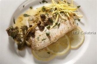 calabria pesce spada con capperi e limone
