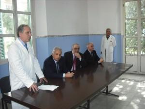 inaugurazione reparto ospedale melito