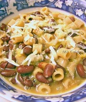 minestrone pasta e legumi