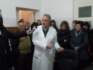 protesta ospedale Melito