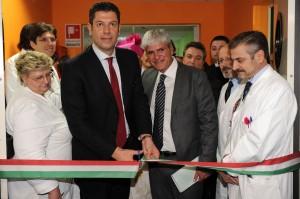 Inaugurazione Scopelliti Ematologia Cosenza