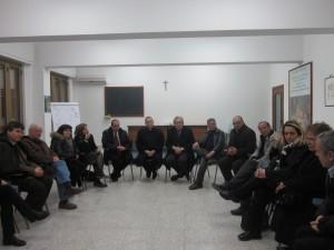 incontro Maradiaga e amministratori