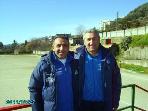 Vadalà G. (ALL. Valle Tuccio) e Fedele C. (ALL. N. San Pantaleone)