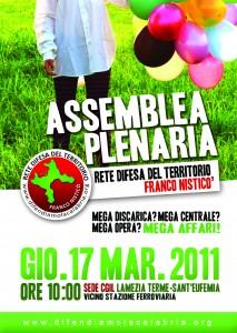 locandina assemblea Lamezia
