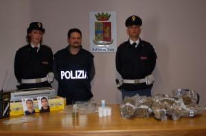 arresti villa droga