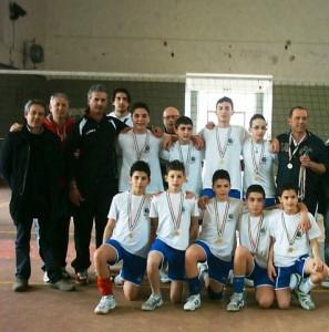 squadra pallavolo G. Pucciano