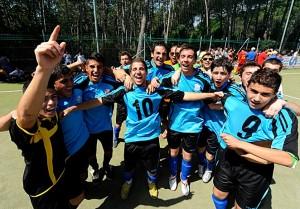 esultanza la finale 2011