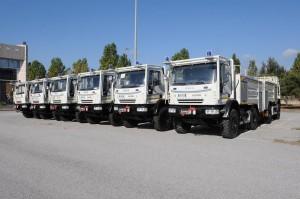 Inaugurazione nuovi automezzi di protezione civile