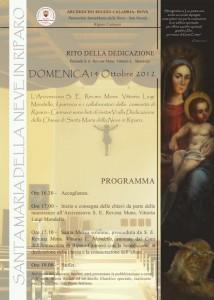 programma chiesa RC
