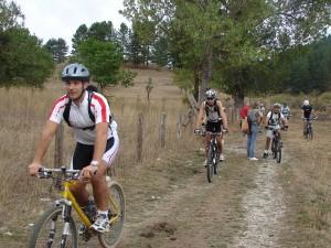 una domenica in mountain bike