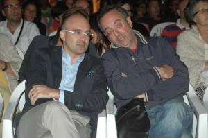 vice sindaco francesco cicione - direttore artistico egidio ventura