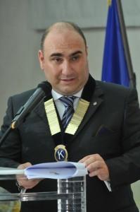 Presidente Kiwanis Club Reggio Cal.  Ignazio Giuseppe Romanò