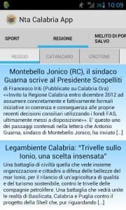 screen app 2 Nasce Ntacalabria App per Android