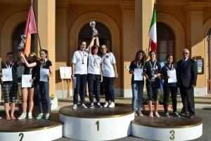 Le-tricolori-Antonella-Costantino-Sara-Costantino-e-Caludia-Serranò