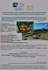 arance del parco archeologico locri epizefiri