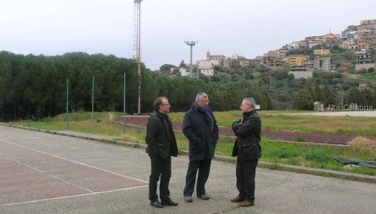 Motta San Giovanni (Rc), consegnati i lavori del campo di calcio a 5
