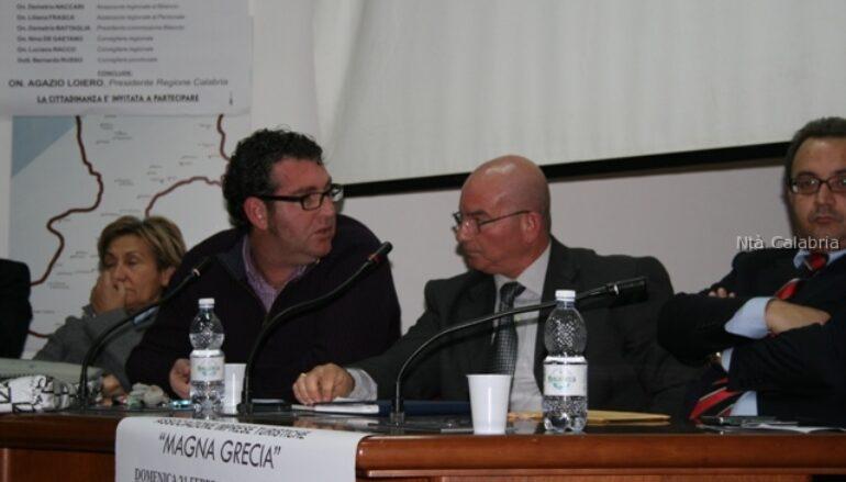 Foto dell'incontro del centrosinistra tenuto a Bova Marina