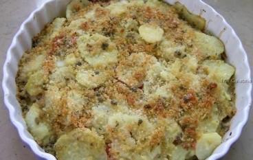 Tortiera di carciofi e patate