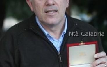 Enzo Gullo ha ricevuto il Discobolo d'oro del Csi