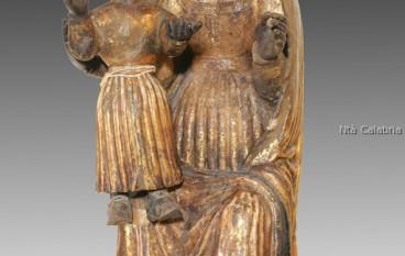 Seminara, RC, Restaurata la statua in legno della Madonna dei Poveri