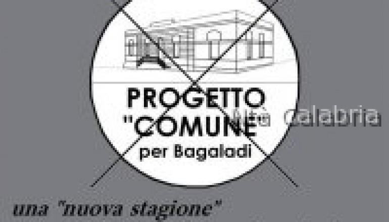 Bagaladi (Rc), comizio del candidato a sindaco Curatola