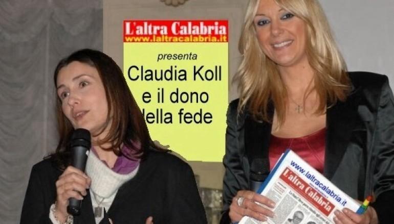 Claudia Koll e il dono della fede