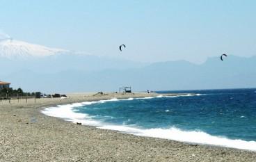 Giovanni Verduci, avvio lavori protezione costa Lazzaro-Pellaro