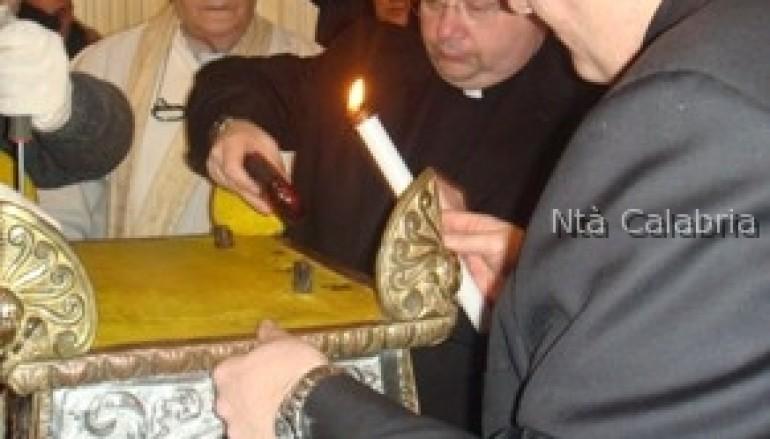 Bova (Rc), realizzata la ricognizione canonica delle reliquie di San Leo