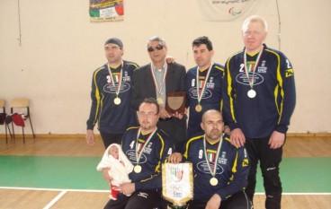 SPORT DISABILI – Poker tricolore per la Reggina Uic Reggio Calabria