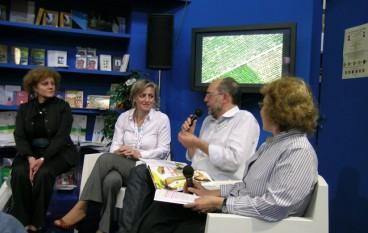 La consigliera di Parità Stella Ciarletta al Salone del libro di Torino