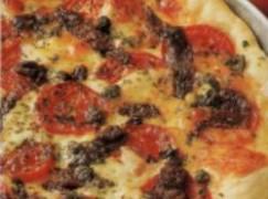 Pizza alici e capperi