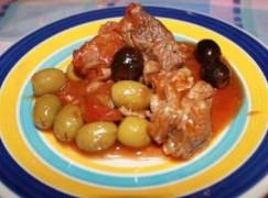 Vitello olive e limone
