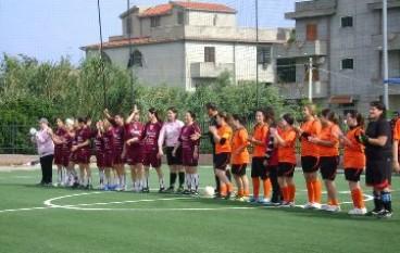 Amatrici calcio Locri, Buona la prima dei quarti di finale!!