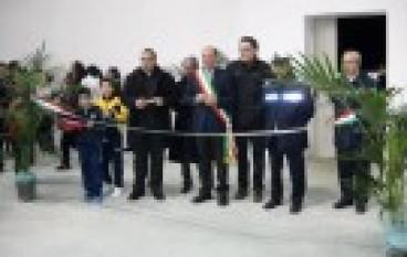 Montebello Jonico, inaugurazione della Palestra polivalente