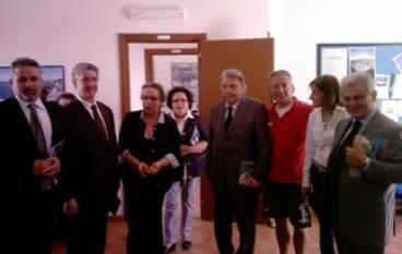 Il presidente Morabito alla cerimonia della Regata Sognando Itaca