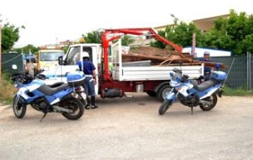 San Gregorio (RC), Arrestati due Rom per furto aggravato in un cantiere