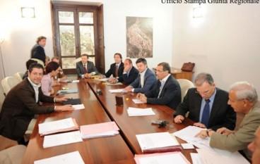 Calabria, Prima riunione dell'anno della giunta regionale presieduta da Scopelliti