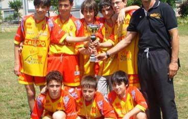Pallavolo Under 13 maschile: la Tonno Callipo Vibo campione regionale