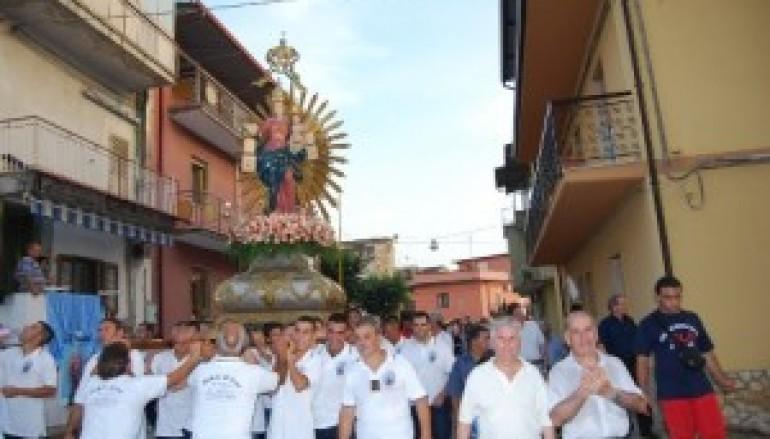 Varapodio (Rc), la festa della Madonna del Carmine
