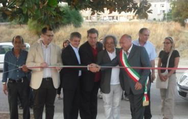Inaugurazione della piazza a Roghudi