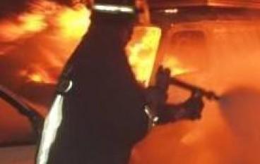 Motta San Giovanni (RC), Cassonetti RSU in fiamme