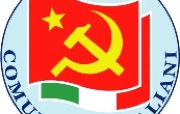 PdCI Reggio Calabria, eletti il segretario e la nuova segreteria provinciale