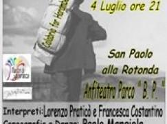 """Reggio Calabria, spettacolo """"Il tempo di andare"""""""