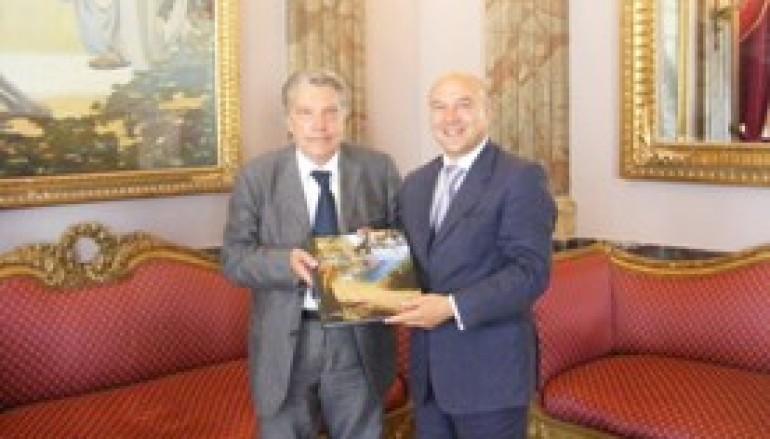 Reggio Calabria, Morabito incontra l'Ambasciatore d'Italia nel Principato di Monaco