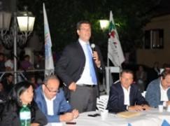 """Il Presidente Scopelliti a Bocchigliero (CS), """"il territorio al centro dell'azione politica"""""""