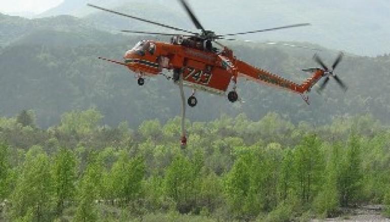 Cosenza, brutto incidente ad un elicottero della protezione civile