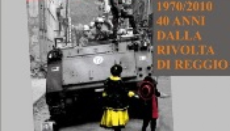 "San Lorenzo Marina (Rc), Presentazione ""Fuori dalle barricate"""