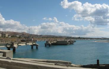 Porto di Saline Joniche, situazione segnaletica – Video