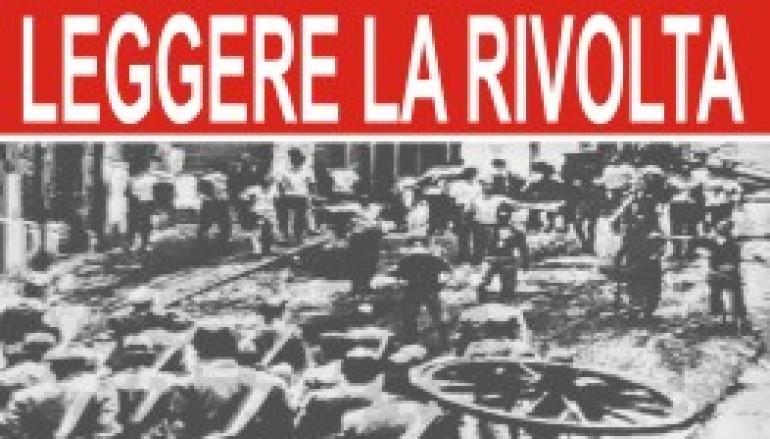 """Manifestazione """"Leggere la rivolta"""" 30 Settembre Reggio C."""